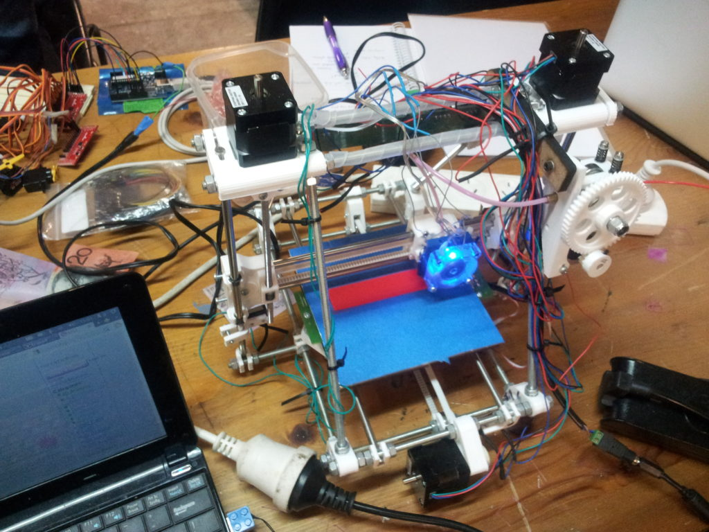 3D Printer (courtesy Hackerspace Adelaide)