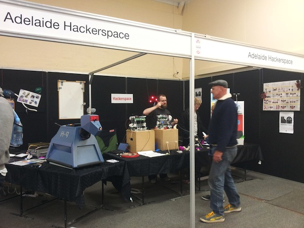 Adelaide Hackerspace at the Royal Adelaide Show