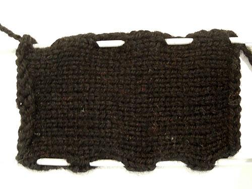 knitted bus bottom