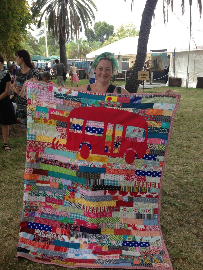 rbrt quilt - made by Claire Tizard, photo by @adelsalison